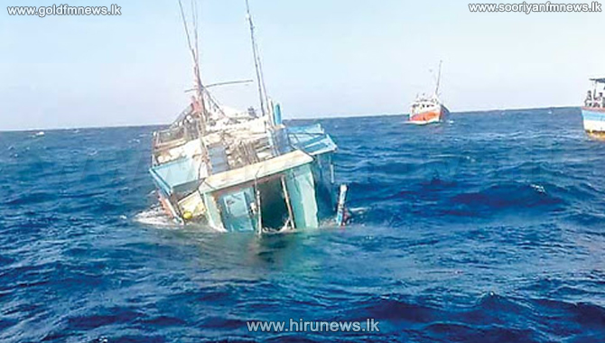 Two fishing vessels damaged in the Southern Sea