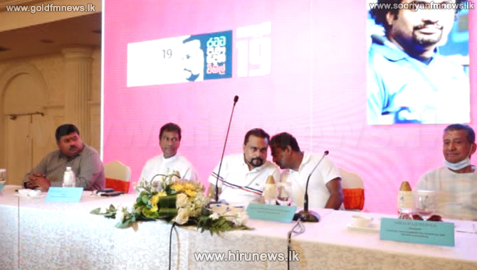 Sri Lankan cricketer Muttiah Muralitharan decides to support Wimal Weerawansa in the election (Video)