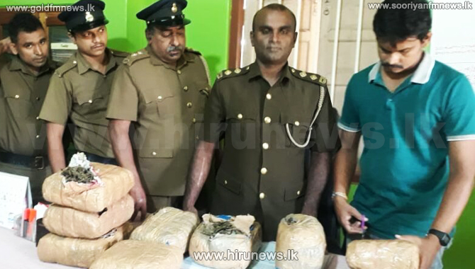 20 kg of Kerala Cannabis nabbed with two suspects