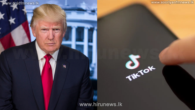 Trump+says+US+will+ban+Chinese+app+TikTok