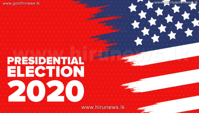 US Presidential Election on November 3