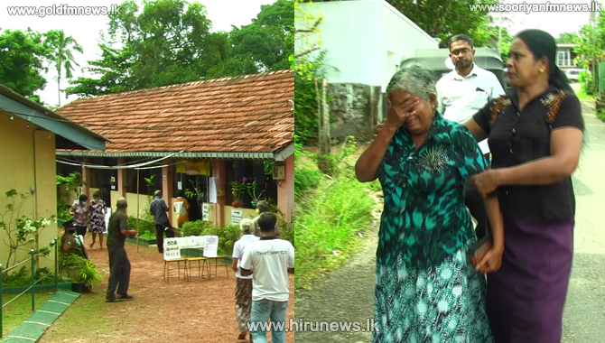Death at Bekkegama polling station in Panadura (video)