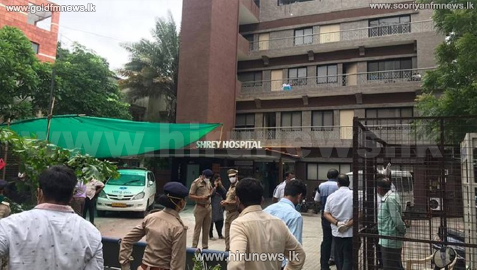 8 dead in fire at Covid-19 hospital in India