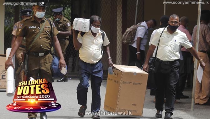 Hambantota, Kalutara report vote counting is under way