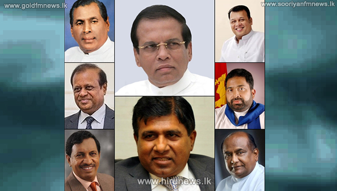No portfolios for Maithri, Wijedasa, Mahinda Yapa: opportunity for 3 portfolios and speaker position