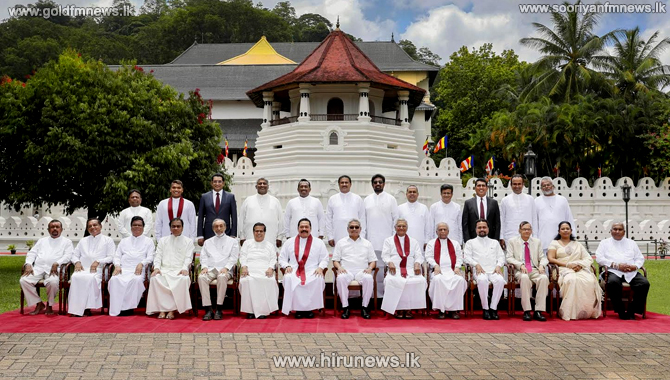 Three+new+faces+among+the+cabinet+-+13+new+parliamentarians+appointed+as+state+ministers