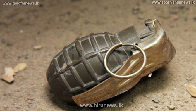 Youth arrested with firearm, grenades