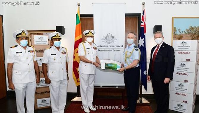Australia donates personal protection equipment worth Rs. 23 million