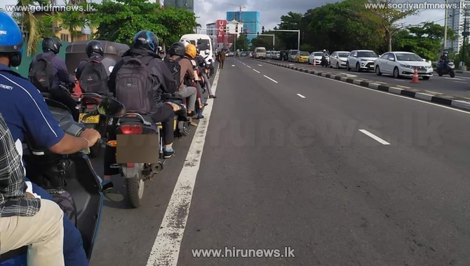 More space on the road for three-wheelers and motorcycles