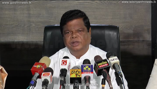 Release the hidden stocks of rice to the market or we will import - Bandula (video)