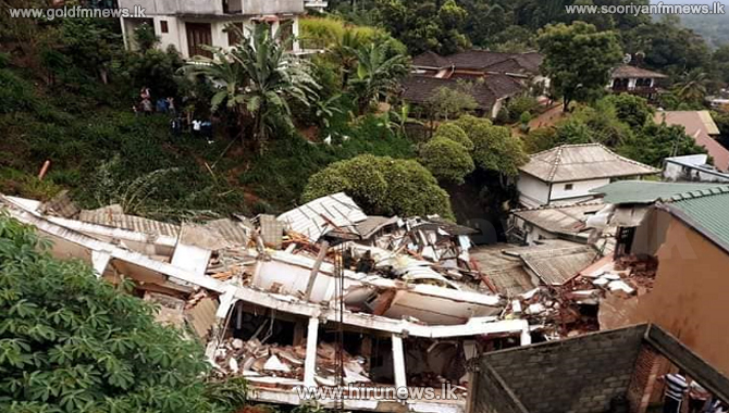 Kandy building collapse - Landslide ruled out, cause to be investigated