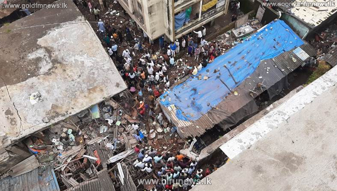 Ten killed in India after a building collapse