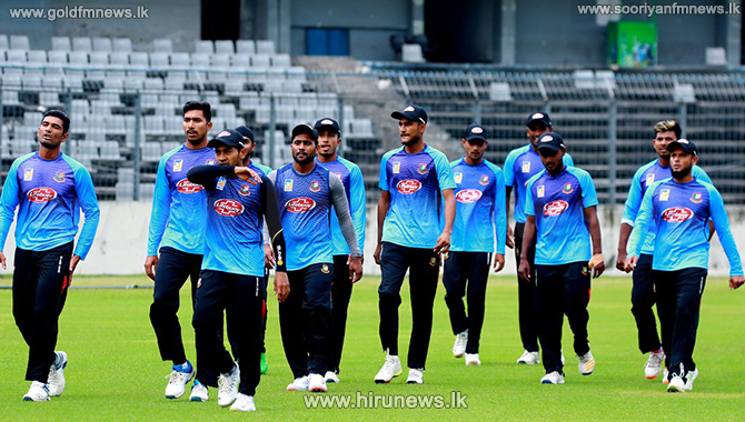 PCR test during Bangladesh training - scheduled to tour Sri Lanka from the 27