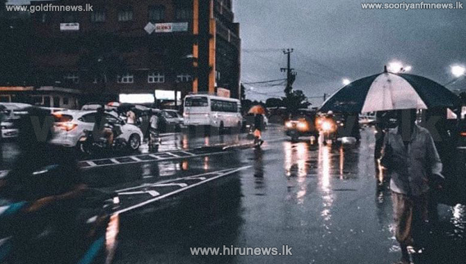 Showers in Sabaragamuwa, Western Central, North Central and North Western areas today