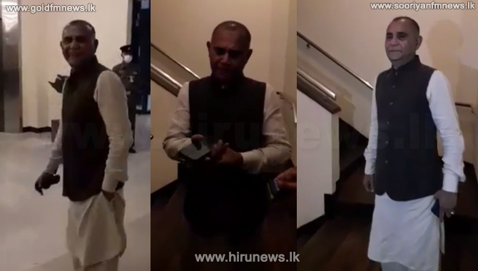 Athaulla's dress code - not acceptable for Sri Lankan parliament - Sergeant-at-Arms (Video)