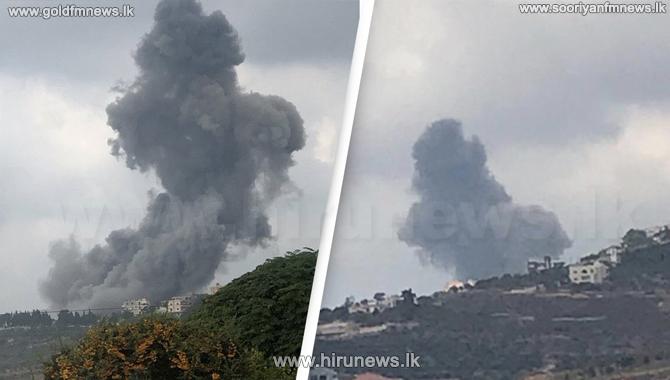 Blast in Hezbollah arms depot in Lebanon