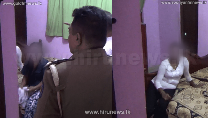 Maharagama prostitution racket raided - operation conducted via internet(Video)