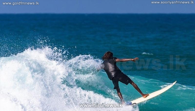National surfing championship begins at Arugambay beach (video)