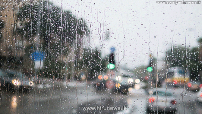 Showers to continue in four provinces