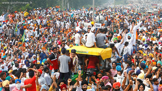 Protests against Modi's new farmers' bills, intensify