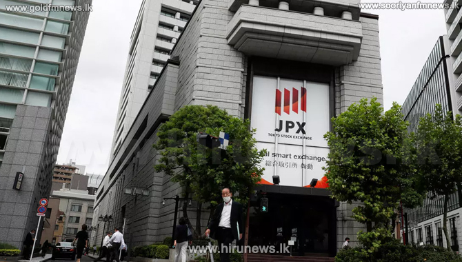 Japan's stock market closes