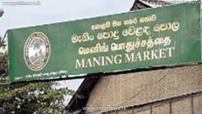 Wholesale dealer in Pettah and several others tests positive for Coronavirus at the Manning market