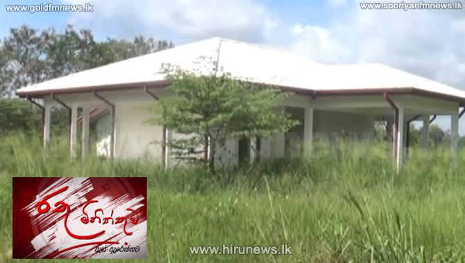 Neglected crematorium in Eppawala (Video)