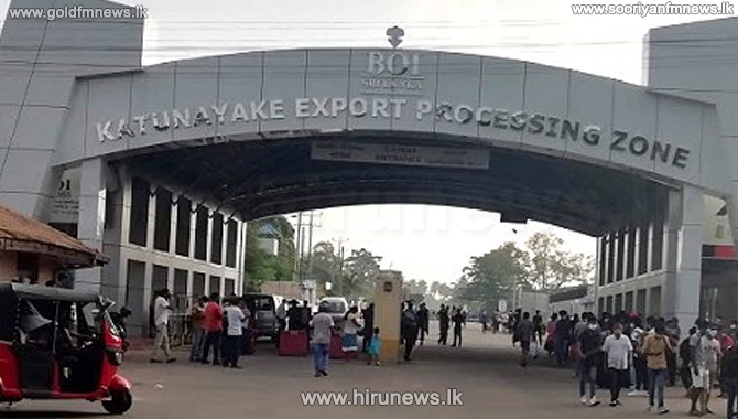 314 Covid-19 infected persons so far at Katunayake EPZ (video)