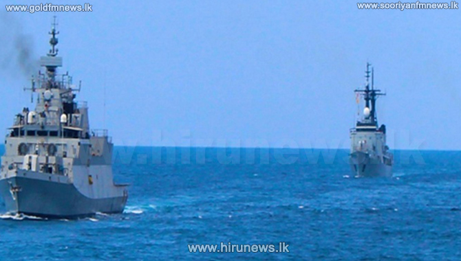 Indo-Lanka naval exercise ends