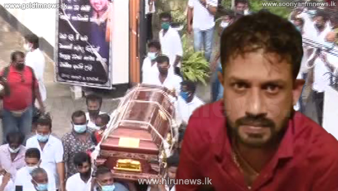 Madush's funeral performed - mistress forwards a letter to BASL (Video)