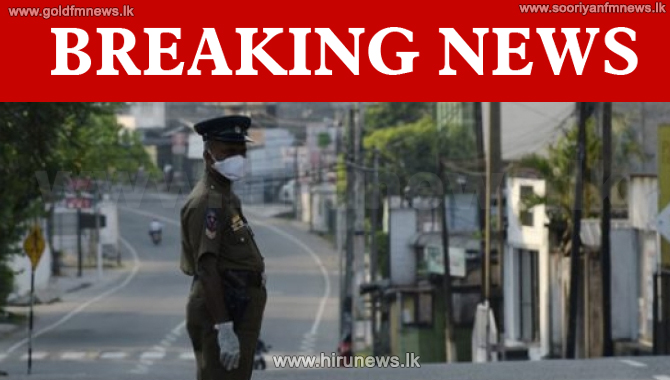Curfew imposed in several areas in Colombo (Video)
