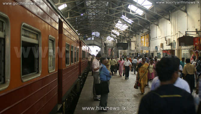 Night mail trains today, excepting one to Galle, cancelled
