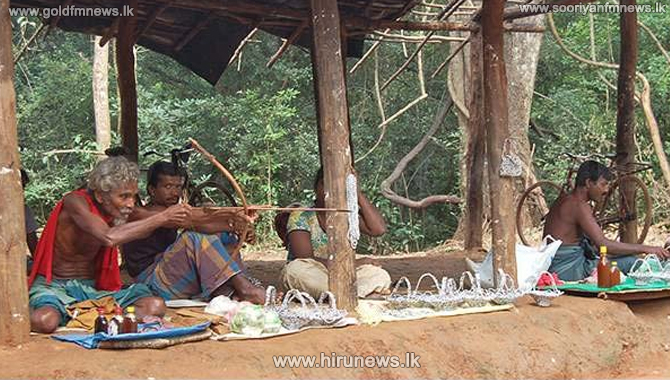 Dambana village of Veddah clan closed for visitors
