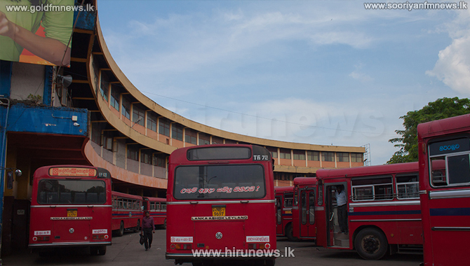 SLTB halts bus operations to outstation from Pettah Central Bus Stand