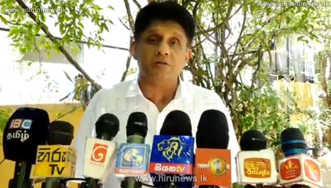 Sajith requests the Government to provide relief to the public affected by COVID