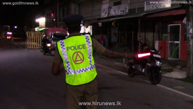 Curfew in 64 police areas to continue - Medicines by post to Kurunegala and Kalutara from tomorrow