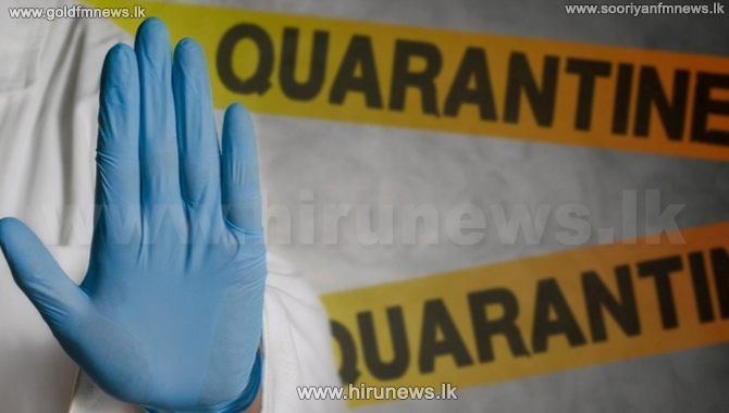 Health guidelines issued for quarantining at non-health-related institutions