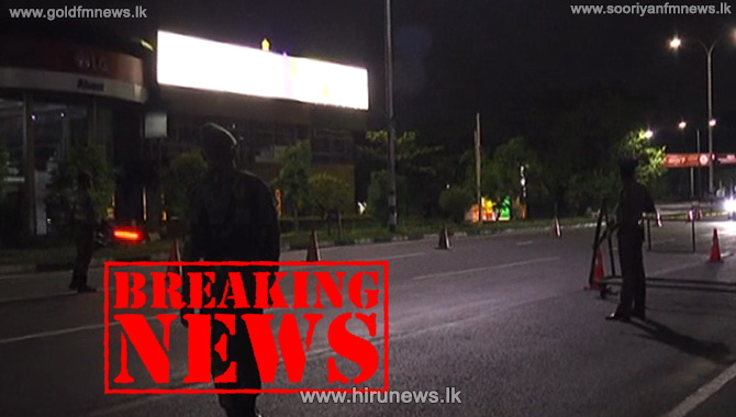 Quarantine Curfew imposed in Moratuwa, Panadura and Homagama