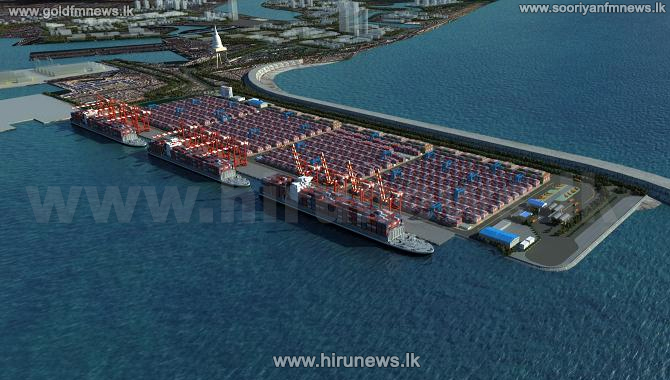 90 m USD investment on Colombo Port's south container terminal