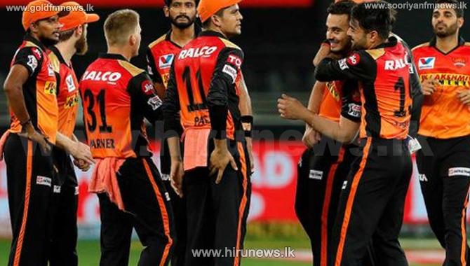 Sunrisers Hyderabad win their IPL game