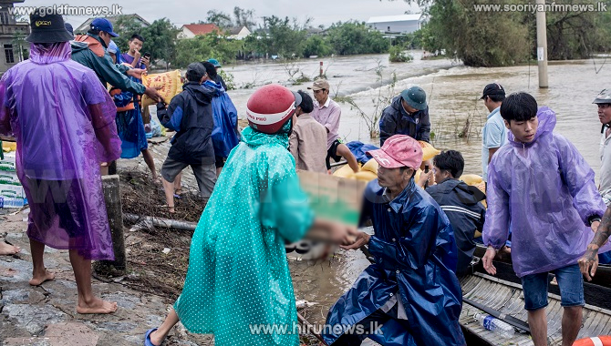 25 people killed in a typhoon in Vietnam