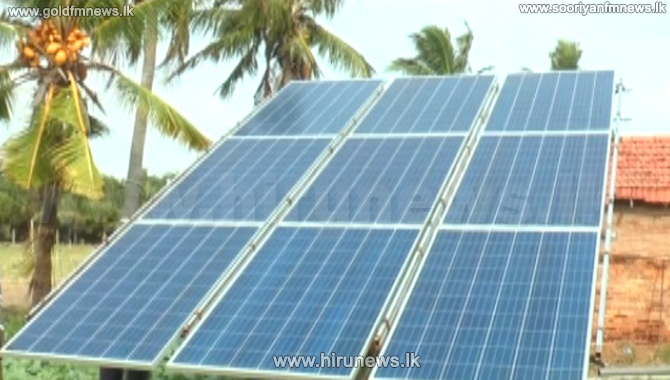 Thalawila Solar Energy 28 panels out of order - wastage of resources (video)