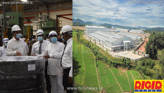 USD 250mil state-of-the-art Tyre plant - set to generate over 3,000 jobs