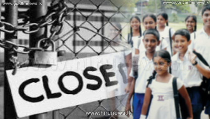 All schools in the Kilinochchi District closed