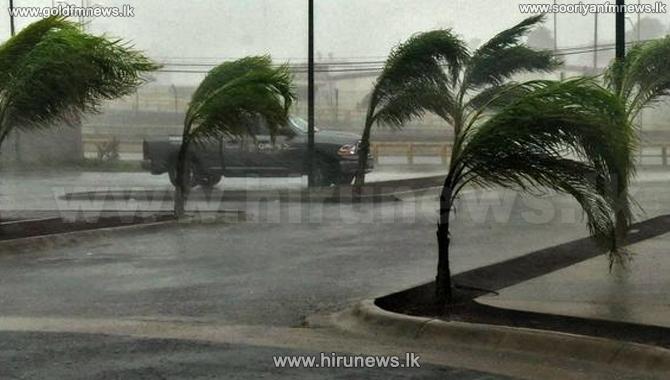 Cyclone 'NIVAR' moves away from Sri Lanka
