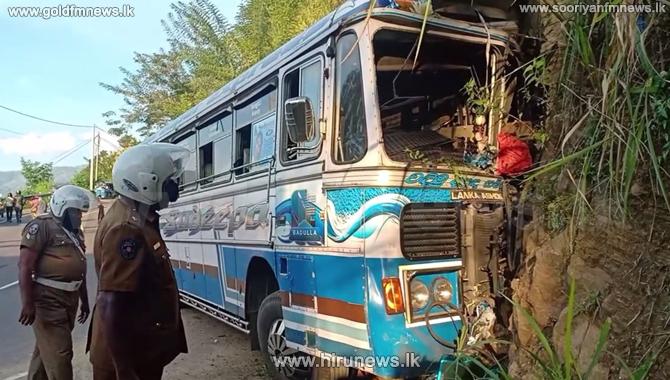 16 hospitalized after an accident in Badulla