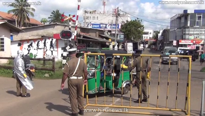 Travel+restrictions+imposed+on+5+villages+in+Chilaw