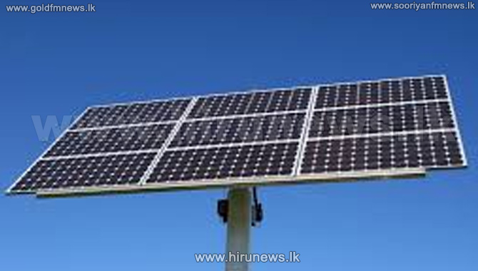 Solar panels for 100,000 low income earners