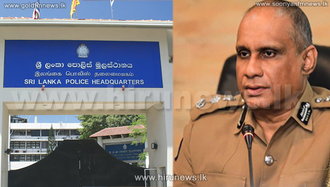 C. D. Wickramaratne assumed duties as the 35th IGP