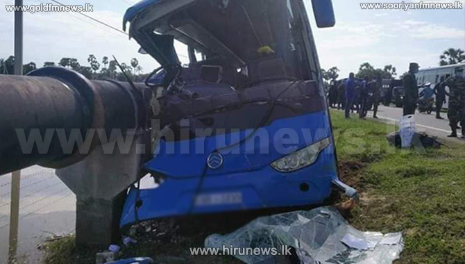 17 injured in quarantine centre bound bus accident